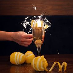 Ring in the New Year with a sparkling cocktail
