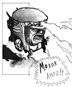 M.O.D.O.K. by ~SebasP on deviantART