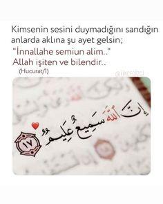 Allah Islam, Islam Quran, Quran Quotes, Islamic Quotes, Hafiz, Movie Lines, Cool Words, Karma, Quotations