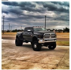 Dodge!! Love it!!! I love chevy but I would be fine in this for a little while