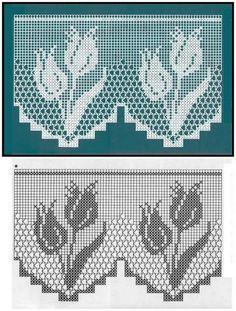 hermosas cenefas crochet (11)                                                                                                                                                                                 Más