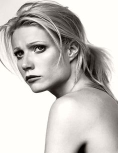 Gwyneth Paltrow, she is so beautiful, with or without make up, always.