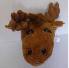 11 Moose Head Plush Stuffed Animal Toy * Find out more about the great product at the image link. Note:It is Affiliate Link to Amazon.