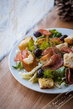 Kochen mit Herzchen - ♥ Mein Koch-Tagebuch mit viel Herz ♥: Sommerlicher Fenchel-Brotsalat