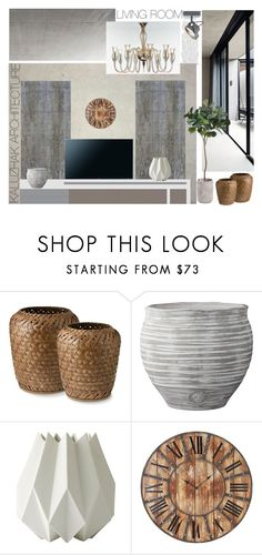 """Living sample 9"" by kalujak on Polyvore featuring interior, interiors, interior design, дом, home decor, interior decorating, Samsung, Lene Bjerre, Menu и Home Decorators Collection"