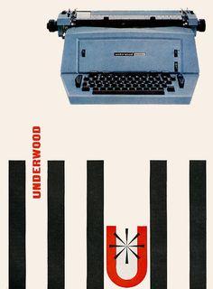 Underwood Typewriter 1961   Roger Wilkerson, The Suburban Legend!