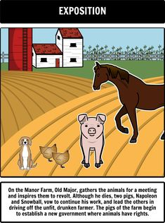 Best Animal Farm Images  Animal Farm Allegory Animal Farm Novel  Old Major Animal Farm Allegory Essay Animal Farm Essays Title Animal Farm  By The Other Animals In The Farm George Orwell Wrote Animal Farm As An