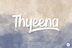 thyeena-handwritten-typeface