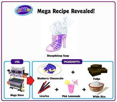 Recipe Revealed - Shoopdeloop Soup