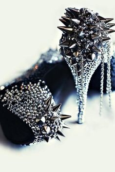 """""""Mace & Chained"""".....Sexy Shoes"""