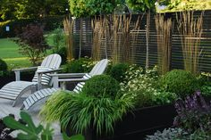 Outdoor Rooms, Outdoor Gardens, Landscape Design, Garden Design, Scandinavian Garden, Garden Features, Fenced In Yard, Garden Planning, Garden Projects