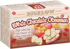 White Chocolate Obsession Tea by Biglow
