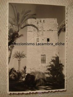 ANTIGUA FOTOGRAFIA ORIGINAL ELCHE AÑOS 30/40 HISTORICA