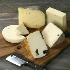 Truffle Cheese Assortment. What could be better than Truffles and cheese with wine?