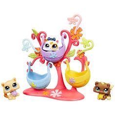 Littlest Pet Shop Triplets - Kittens Lps Littlest Pet Shop, Little Pet Shop Toys, Little Pets, Needle Felted Animals, Felt Animals, Accessoires Lps, Lps Accessories, Lps Toys, Baby Doll Nursery