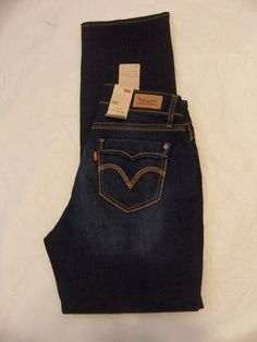 Levi's Jeans 529 Curvy Straight Leg Size 2-16 Variations Women's  #Levis529Jeans #StraightLeg