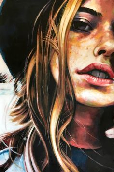 "Saatchi Art Artist Thomas Saliot; Painting, ""Bohemian Girl"" #art"