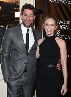Pin for Later: 22 Stars Who Have Buns in the Oven Emily Blunt Emily and husband John Krasinski will become parents for the second time this year. They have a 2-year-old daughter, Hazel.