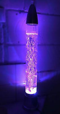28 71cm Colour Changing Aquarium Bubble LED Lamp Novelty Fish Water Mood Light