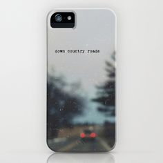 down country roads iPhone Case