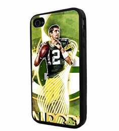 NFL Green Bay Packers Aaron Rodgers, Cool iPhone 4 / 4s Smartphone iphone Case Cover Collector iphone TPU Rubber Case Black 9nayCover http://www.amazon.com/dp/B00UR8WQ52/ref=cm_sw_r_pi_dp_AMQsvb04K7JTP