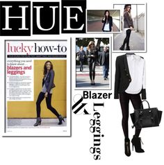 """""""HUE + You: Perfect Leggings for Fall"""" by lisabedow on Polyvore"""