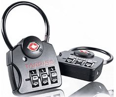 Secure your travels with Tarriss TSA Locks with SearchAlert technology. With SearchAlert you'll always know when TSA has been in your bags! Best Luggage, Travel Luggage, Airline Travel, Travel Souvenirs, Travel Items, Travel Abroad, Combination Locks, Top 5, Buyers Guide