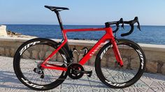 The new Canyon race bike for 2016...very nice!
