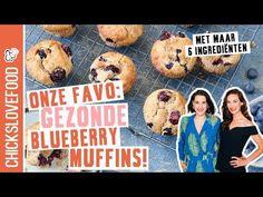 Gezonde blauwe bessen muffins - VIDEO - Chickslovefood