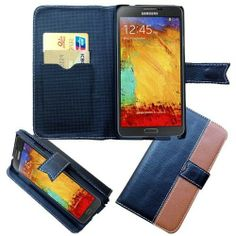 Get the Latest #Samsung #Galaxy #Note #3 #III #N9005 #N9000 #Pouch #Case #Cover - Black/ Brown Leather Wallet Flip With Credit Card w/ Free Shipping in The U.S.A from @Acetag. It protects your phone from scratches and scuffs. Get it right now at @Acetag! $14.99