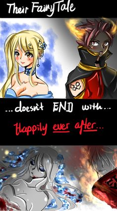 Their ENDing... by NanakoBlaze on DeviantArt But seriously, imagine the end of Fairy Tail, maybe not Lucy dying but Natsu forever trapped in E.N.D.'s book