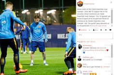 #Messi will come back!!! The pic from the official Instagram of Barcelona  For more news please visit:www.fifa15buy.com