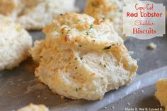 Made It. Ate It. Loved It.: Copy-Cat Red Lobster Cheddar Biscuits