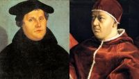 """""""So sorry, Martin. I guess I was wrong."""" - Pope Leo X"""