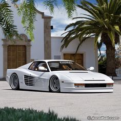 "jonsibal: ""bout that Miami Vice steeze. #ferrarifriday #Ferrari #testarossa…"