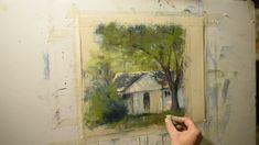 Painting with Soft Pastels - Malerei Kunst Soft Pastel Art, Pastel Artwork, Soft Pastels, Doodle Art Drawing, Pastel Drawing, Pastel Landscape, Landscape Art, Oil Pastel Crayons, Mini Canvas Art
