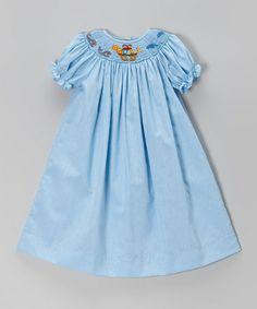 Blue Noah's Arc Bishop Dress