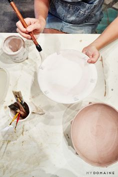 2f14bf364ee5 The Cool Handmade Pottery Fashion Girls Will Love via  MyDomaine Slab  Ceramics