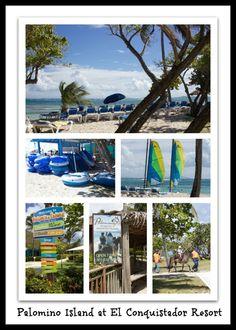 El Conquistador Resort's Palomino Island.  Puerto Rico | ElConResort.com