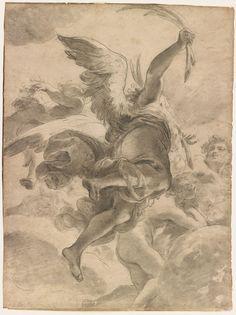 Gaetano Gandolfi, Angel, 18th century, Morgan Library