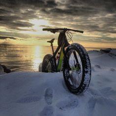 "Photo submitted by George Kapitz, ""Taken on the shoreline of Lake Michigan… Moutain Bike, Mountain Bike Trails, Bicycle Types, Morning Sunrise, Lake George, Lake Michigan, Best Vacations, Bike Life, Cool Bikes"