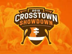 Logo / icons / Badges / Crosstown_showdown — Designspiration
