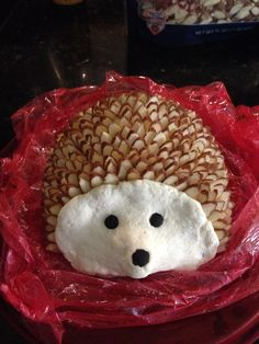 Hedgehog ranch bacon cheddar cheese ball for Baby Shower ...