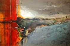 Saatchi Online Artist: Ruth Jensen McGrath; Acrylic, 2012, Painting Transition