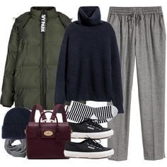 A fashion look from December 2016 by paradise-101 featuring Topshop, HOT SOX, Superga, Mulberry, Acne Studios and H&M