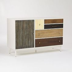 Patchwork Media Console - Multi #westelm