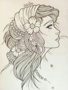 american traditional gypsy girl - Google Search