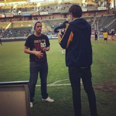 Hey @Dave Styles thanks for the #AthleticRecon love at the @LA Galaxy game last week. #lagalaxy #fresh #live #report #sidelines #soccer