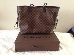 Louis Vuitton Neverfull Damier GM handbag bag authentic genuine
