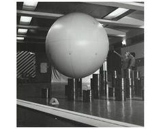 Akira Kanayama, Balloon, 1955, 1st Gutai Art Exhibition, Ohara Hall, Tokyo, October 1955, Ashiya City Museum of Art & History
